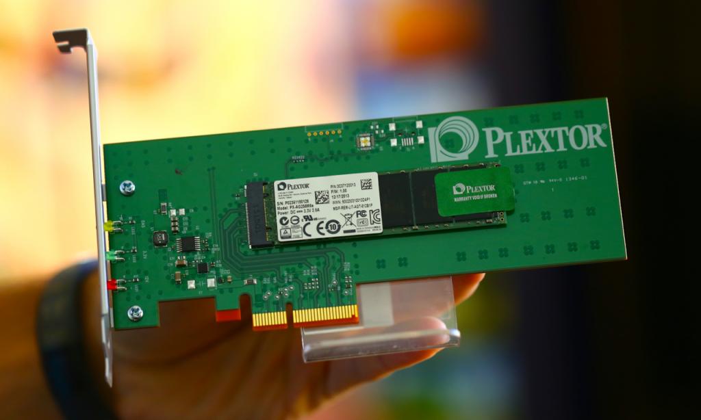 Plextor HHHL PCIe Card SSD 3x5