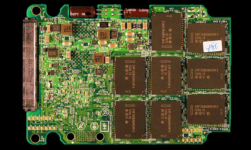 Intel SSD 730 Series SSD PCB Back
