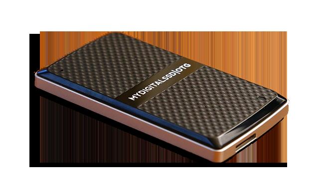 MyDigitalSSD OTG Pocket SSD Angled