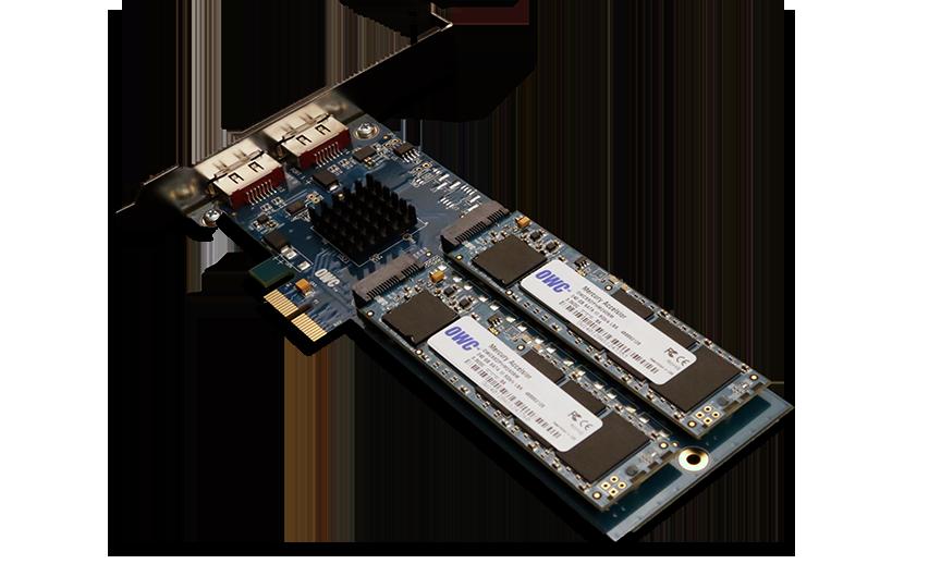 OWC Mercury Accelsior_E2 480GB PCIe SSD Extra