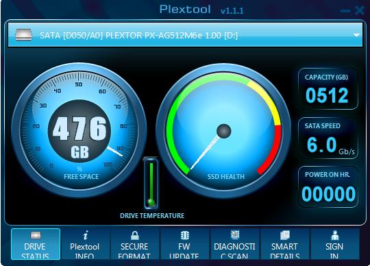 Plextool Welcome Screen