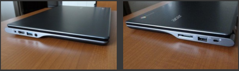 Acer Chromebook Ports