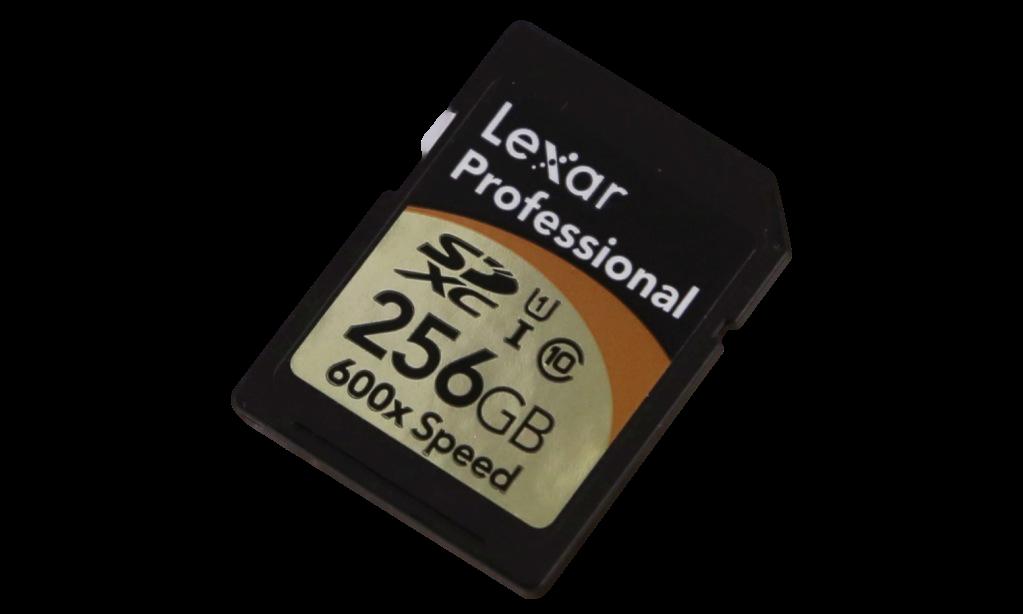 Lexar Professional 600x SDXC UHS-1 Card
