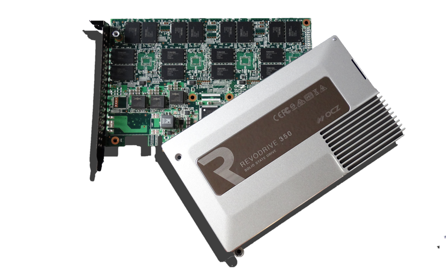 OCZ RevoDrive 350 PCIe SSD Disassembled