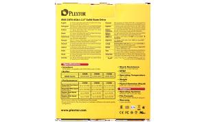 Plextor M6S 256GB SSD Exterior Back