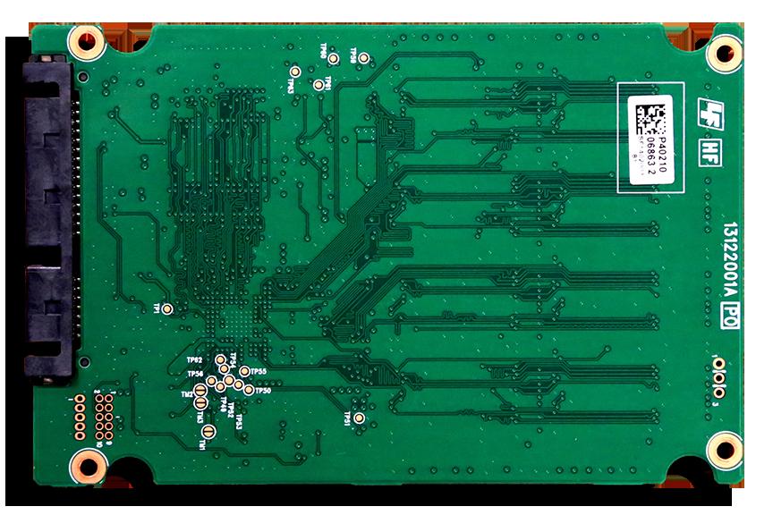 Plextor M6S 256GB SSD PCB Back