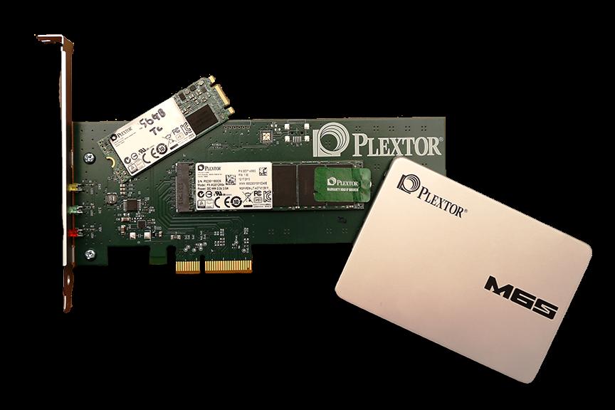 Plextor M6S 256GB SSDOpener