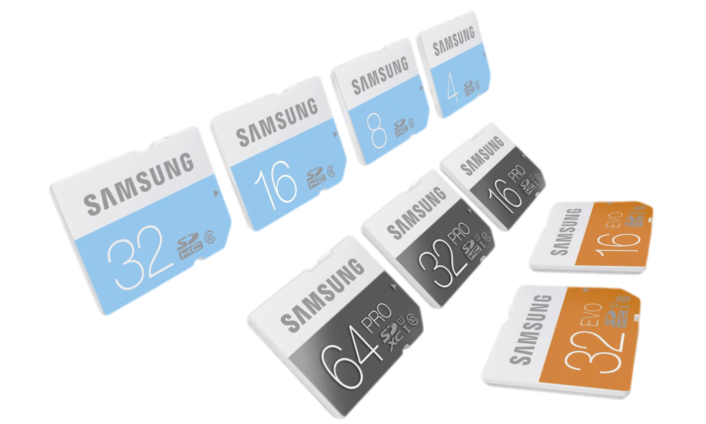 Samsung SD Cards