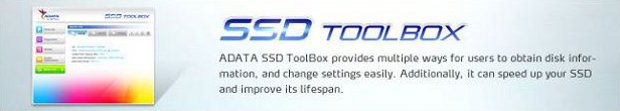 ADATA SSD toolbox banner