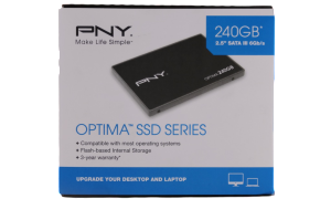 PNY OPTIMA SSD PACKAGE FRONT