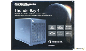 OWC ThunderBay 4 Exterior Package front