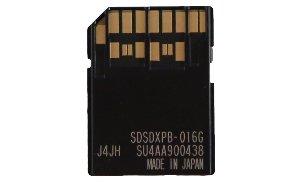SANDISK SD CARD BACK