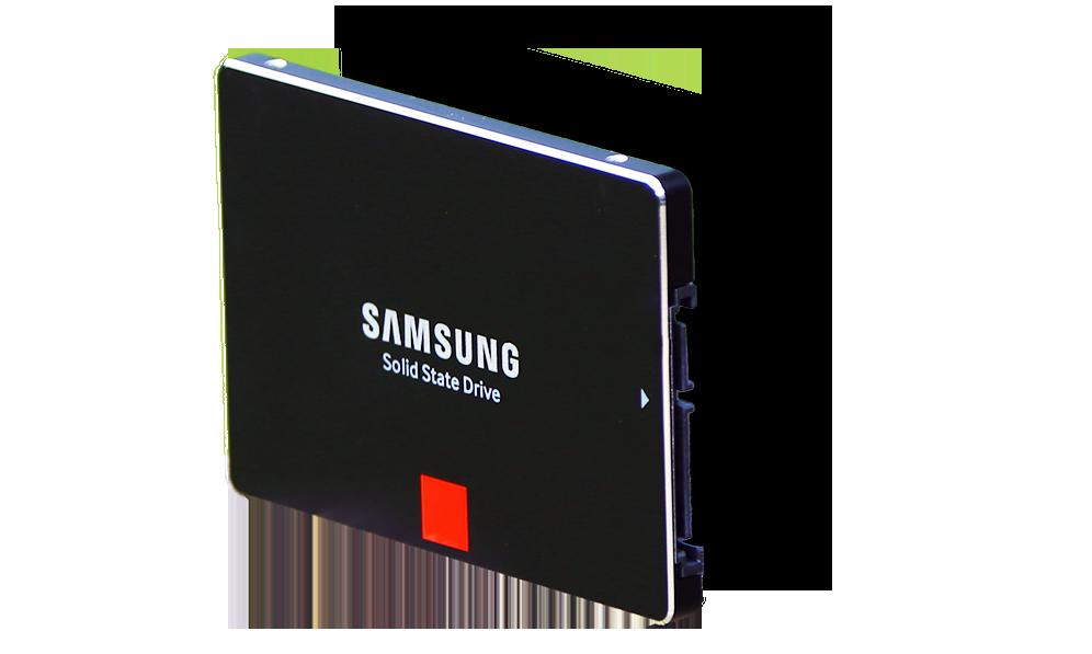 Samsung 850 Pro SSD Angle