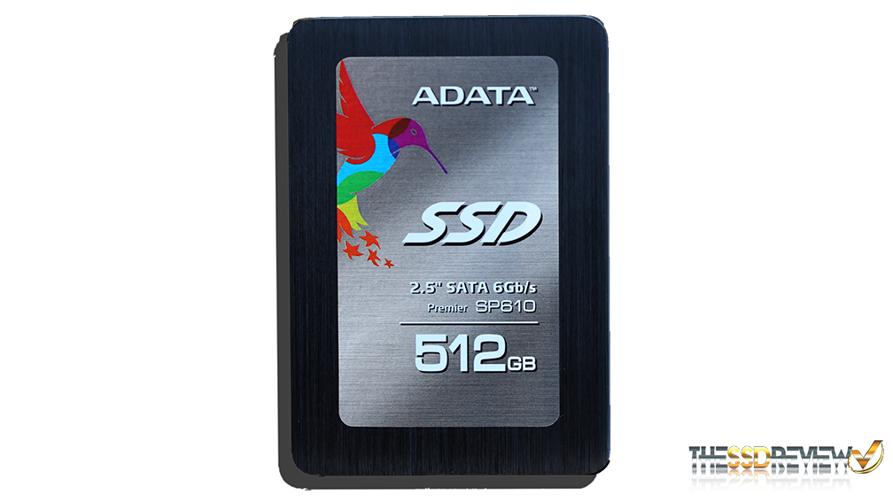 ADATA SP610 SSD Front