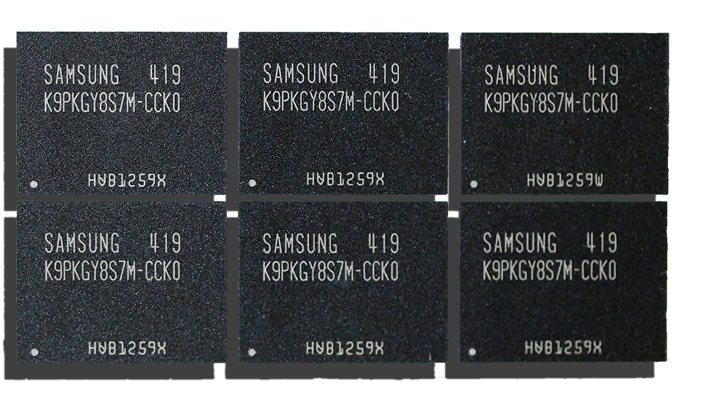 Samsung 845DC Pro SSD Memory