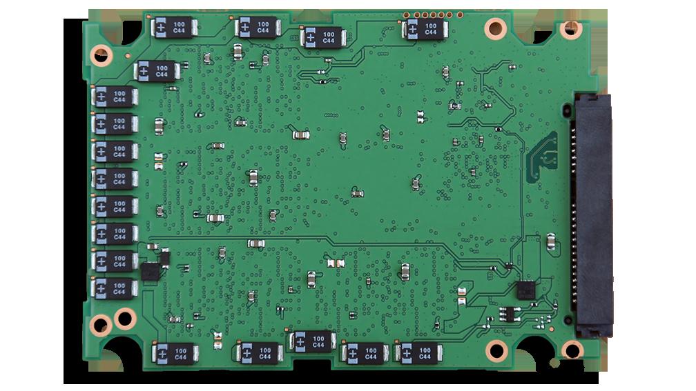 Samsung 845DC Pro SSD PCB Back