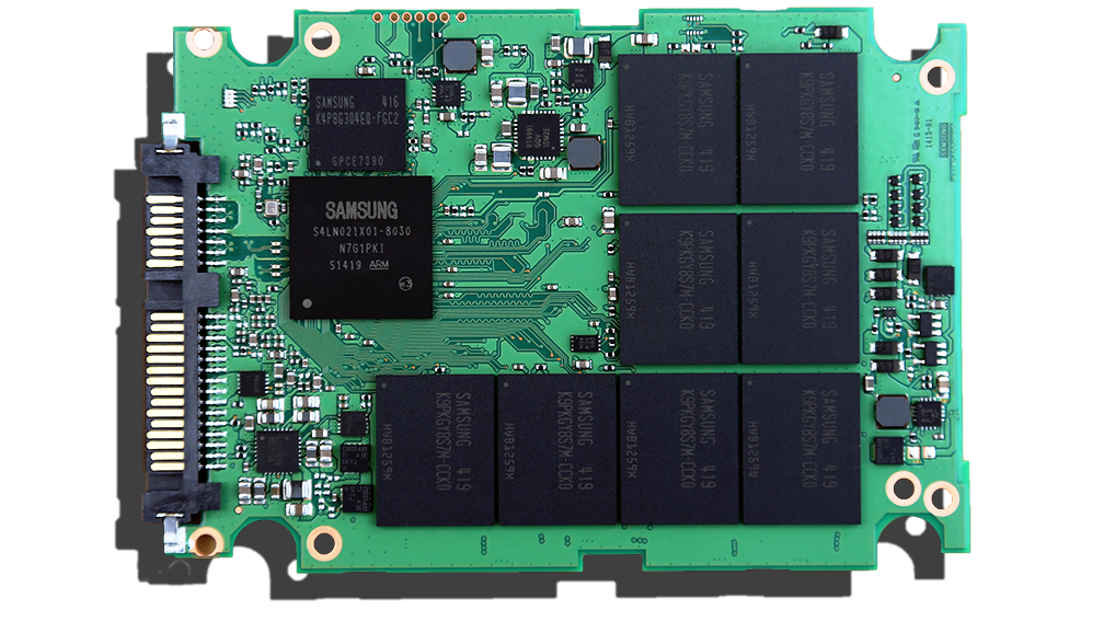 Samsung 845DC Pro SSD PCB Front
