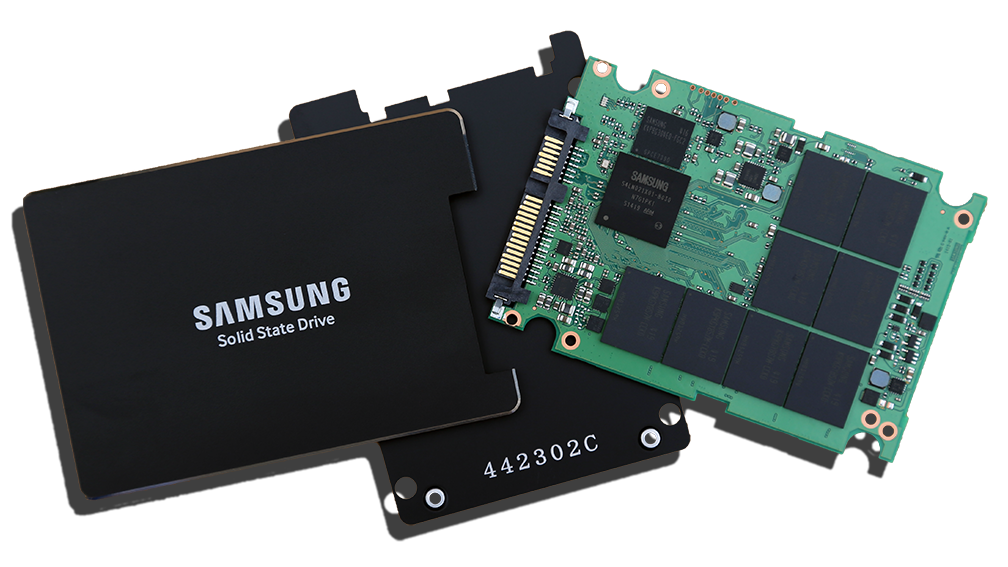 Samsung 845DC Pro SSDs Disassembled