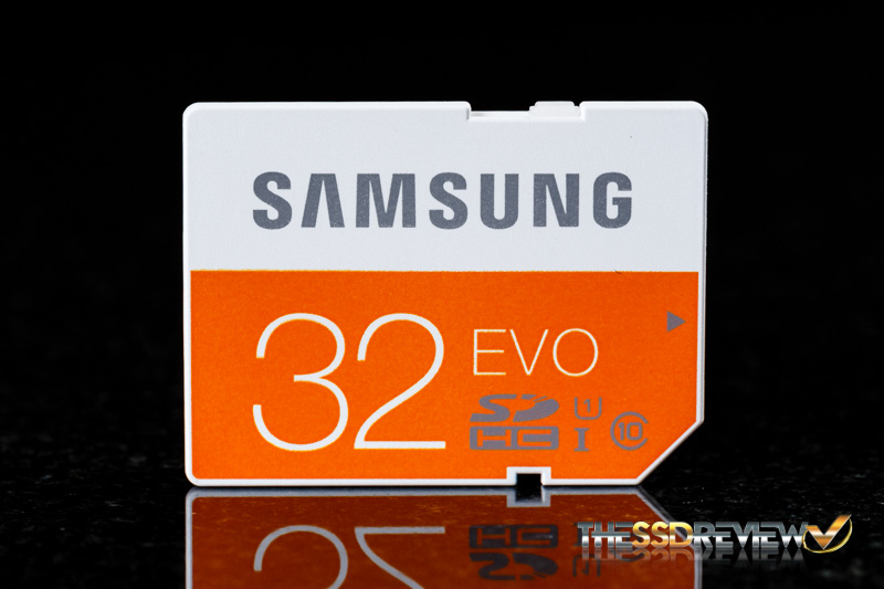Samsung EVO SDHC 32GB Front