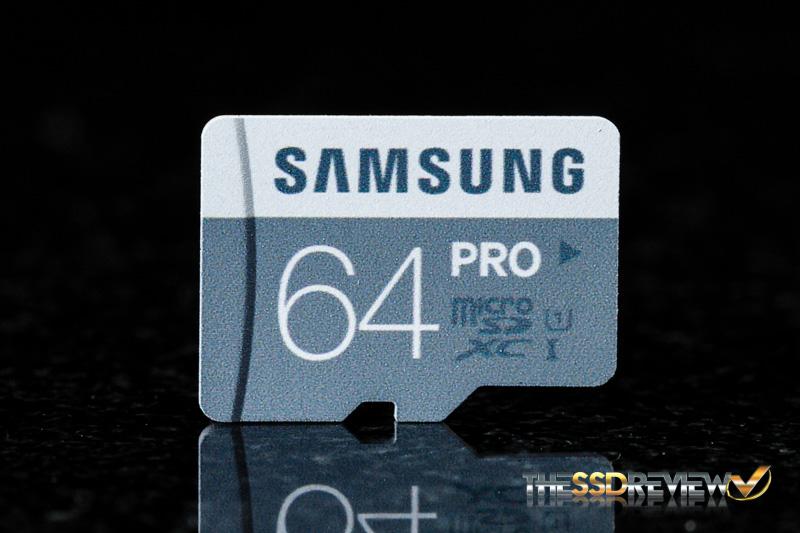 Samsung Pro microSDXC 64GB Front