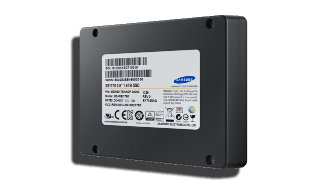 Samsung XS1715 NVMe SSD
