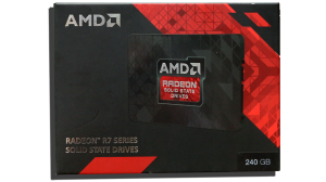 AMD Radeon 256GB SSD Exterior Front