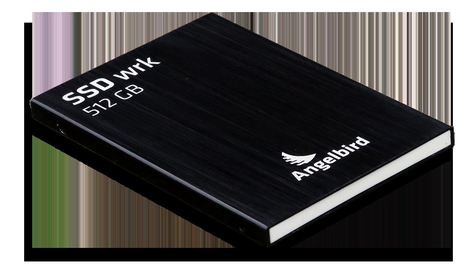 Angelbird SSD2Go 521GB SSD Exterior Angle 2