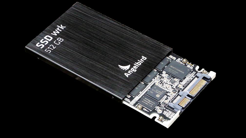 Angelbird SSD2Go 521GB SSD Open