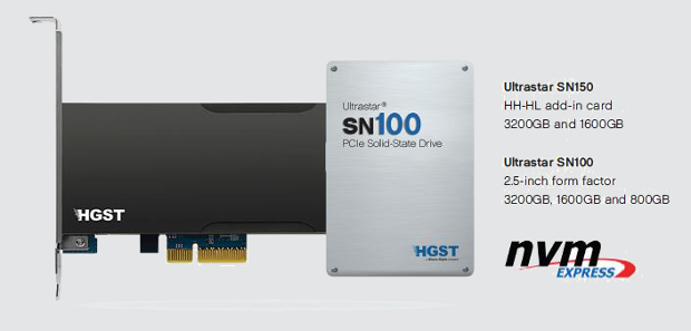 HGST SN100 and SN150