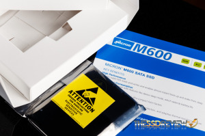 Micron M600 256GB Inside box