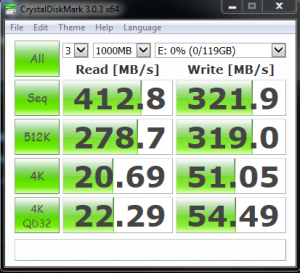 RAIDON Runeer JBOD Single Samsung 830 128GB