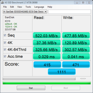 SanDisk Ultra 2 AS SSD