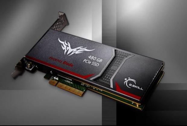 GSkill Phoenix Blade 480GB angled