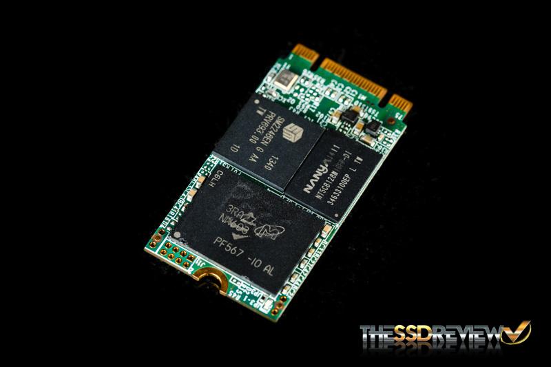 KINGMAX M.2 2242 128GB Angled