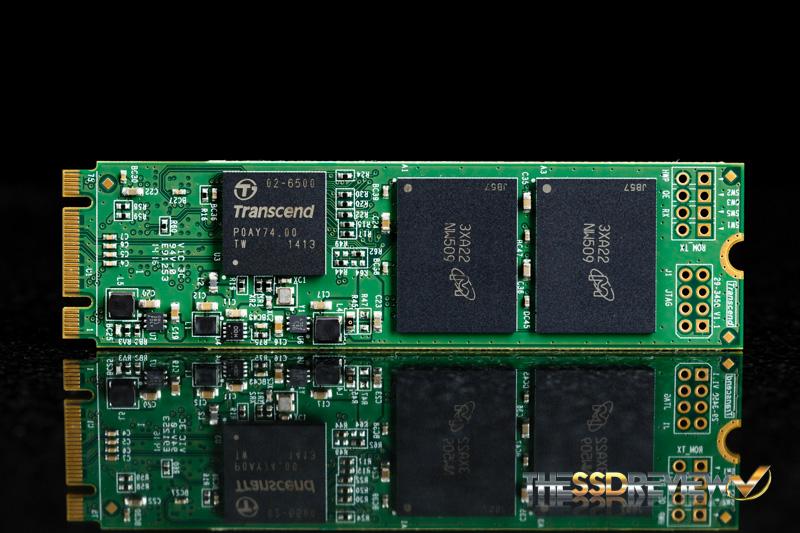 Transcend MTS800 M.2 128GB Front