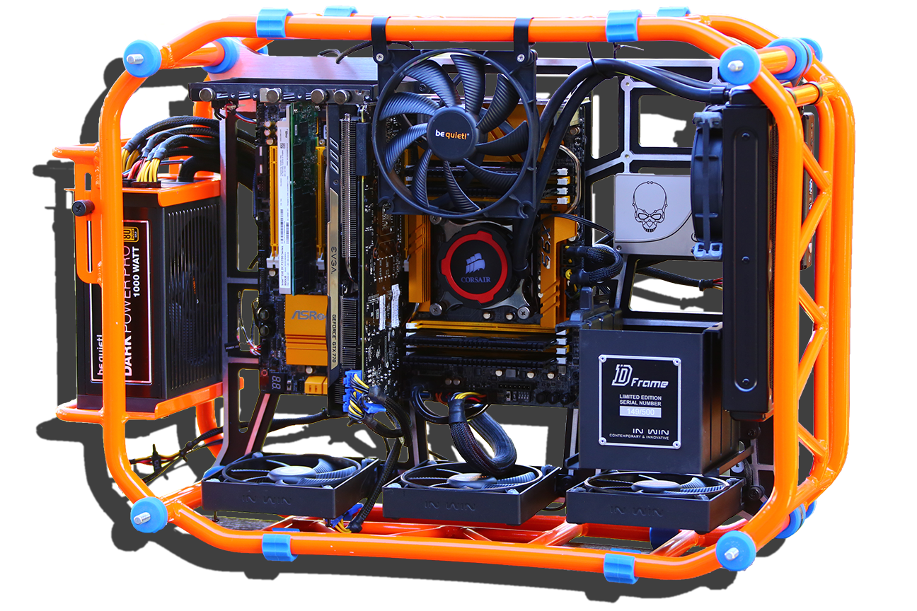 X99 Test Bench Angled