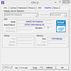 CPUZ Gfx