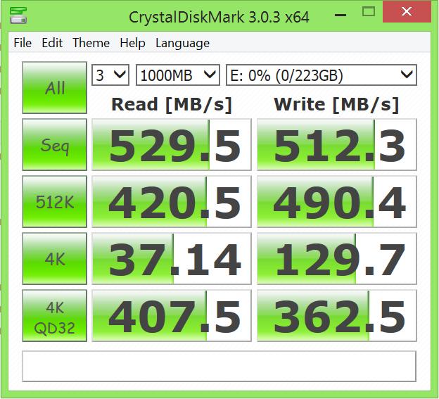 Corsair Neutron XT 240GB SSD CDM