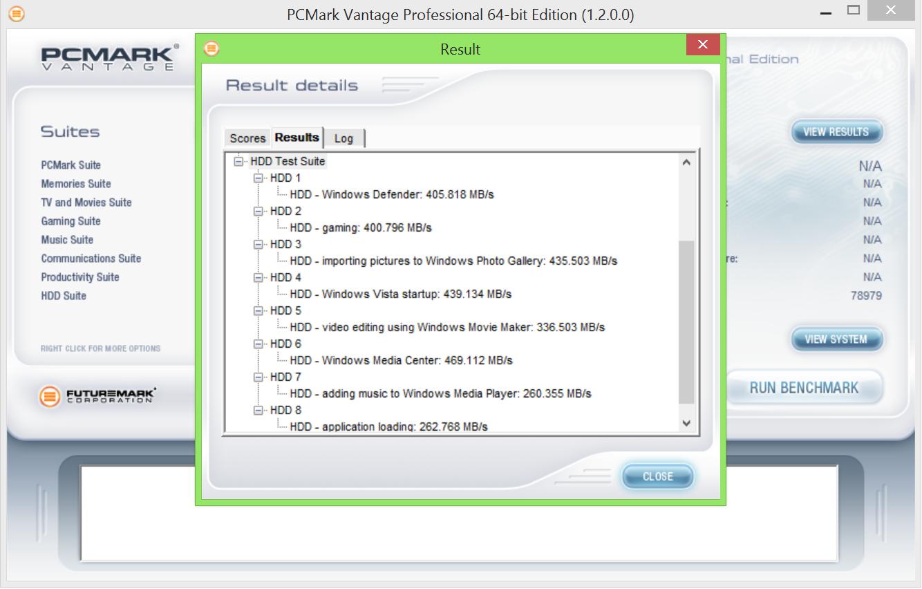 Corsair Neutron XT 240GB SSD PCMark Vantage