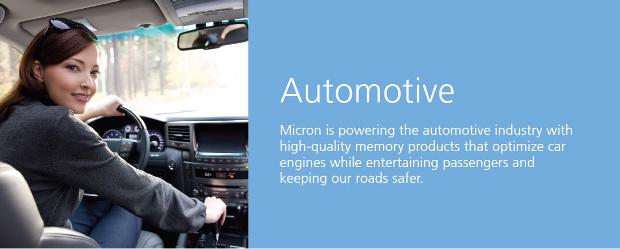 Micron automotive banner 2
