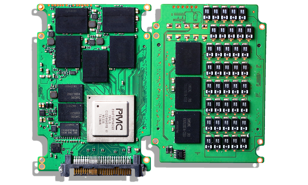 Samsung XS1715 1.6GB NVMe SSD PCB Outside