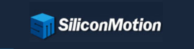 Silicon Motion logo dark