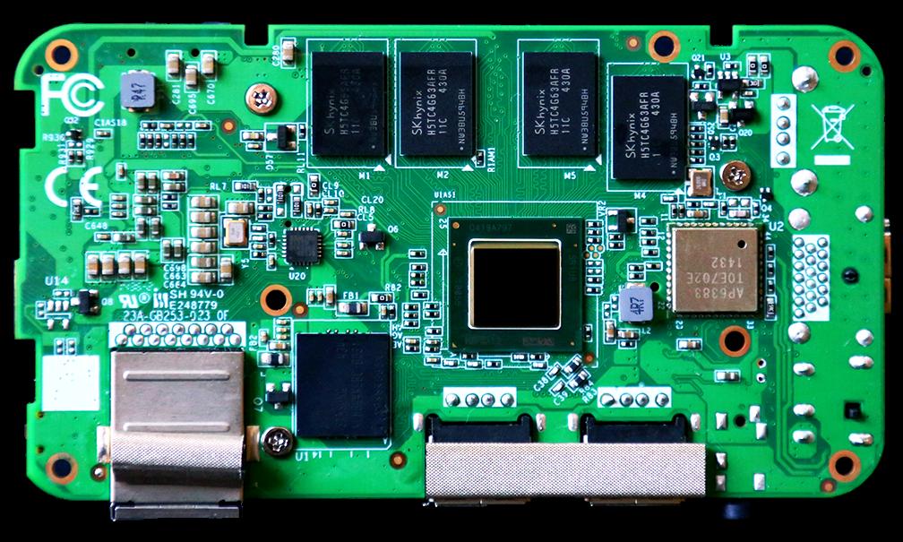 Zotac ZBox Pico PCB Bottom