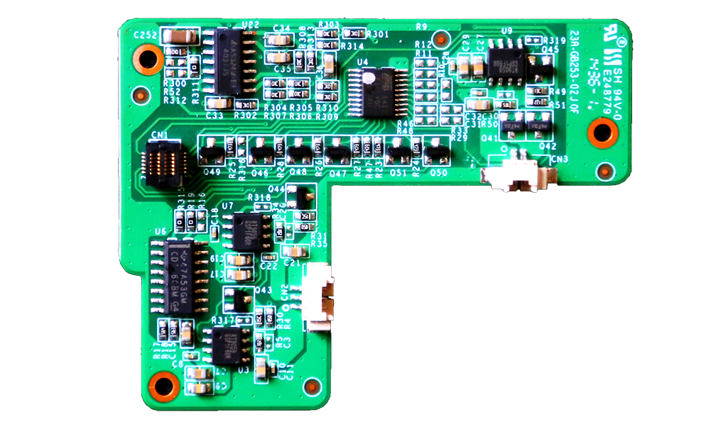 Zotac ZBox Pico PCB Top Daughterboard