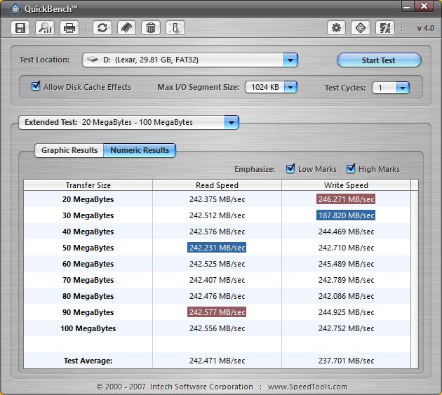 Lexar JumpDrive P10 Benchmarks-4