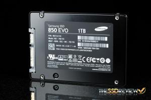 Samsung 850 EVO 1TB Back