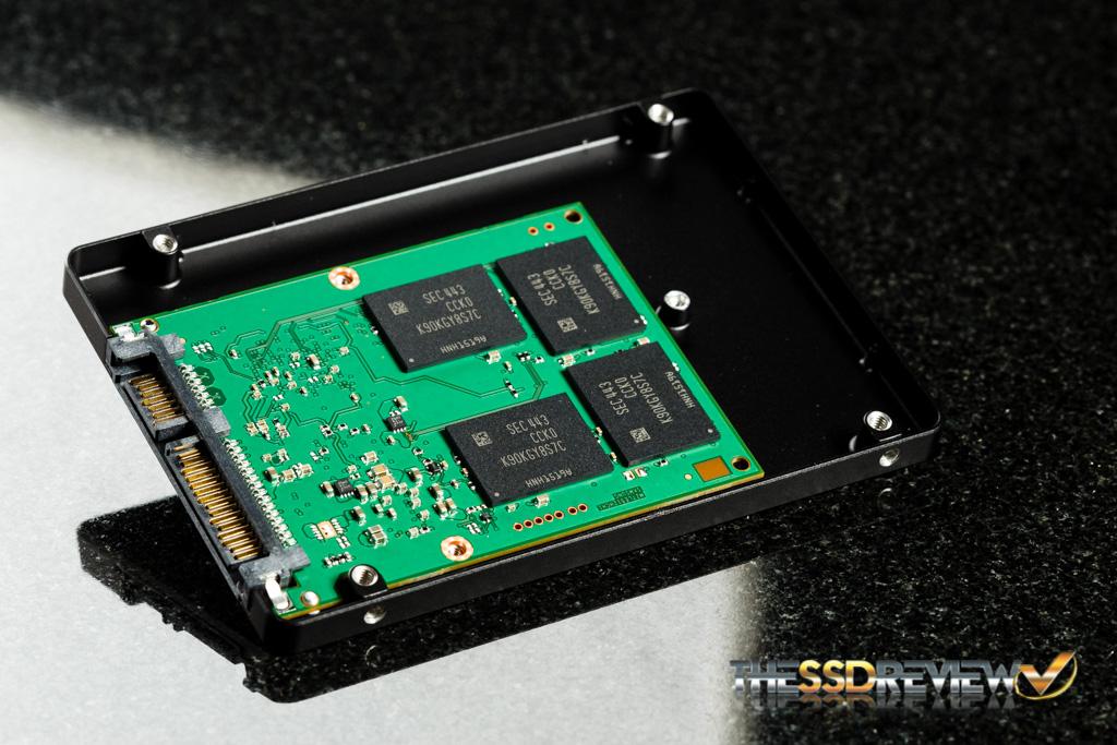 Samsung 850 EVO 1TB PCB and Case