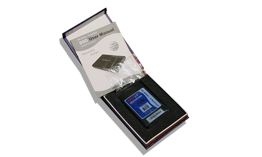 SuperTalent 1TB SATA 3 SSD Open