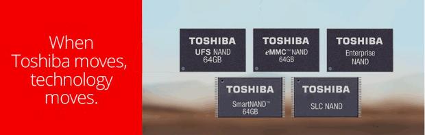 toshiba NAND banner