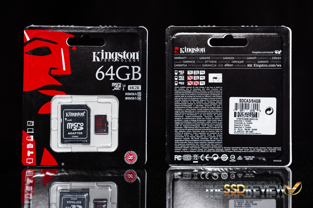 Kingston microSDXC Card Package